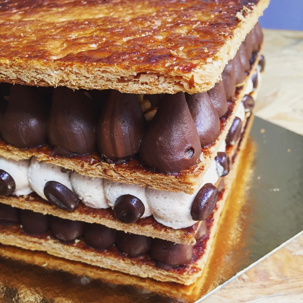 Coffee Millefeuille